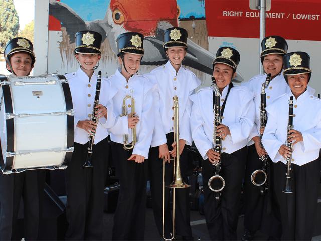 Davidson Marching Band