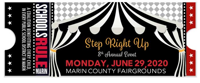 Get Updates for 7th Annual Fundraiser for Marin Schools July 1st