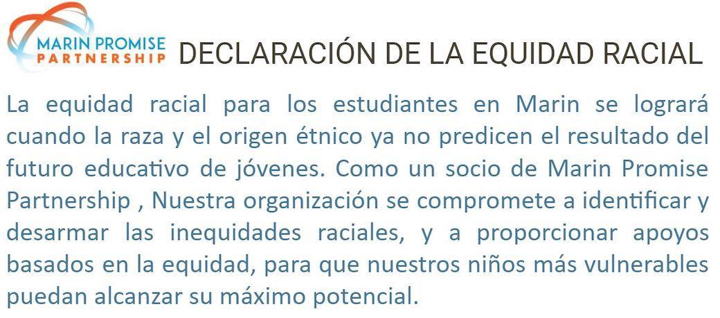 Declaratión de la Equidad Racial